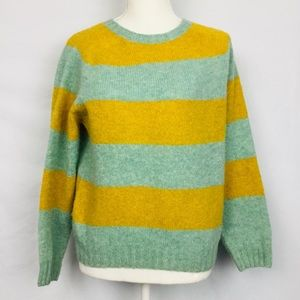 Harley of Scotland J. Crew Striped Sweater Size S